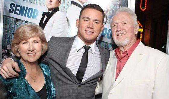 Ченнинг Татум с родителями