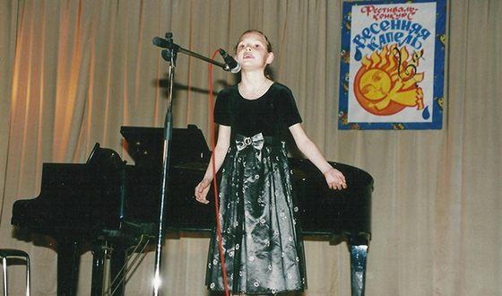 Полина Фаворская с детства выступает на сцене