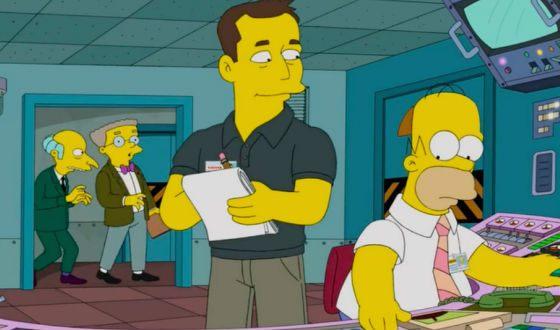 Илон Маск появился в «Симпсонах»