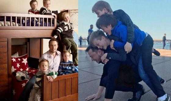 4 дня в неделю Илон Маск проводит с детьми