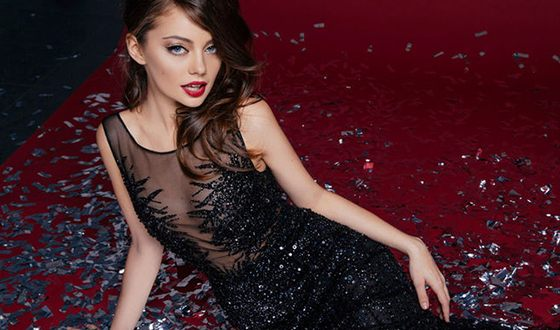 Екатерина Кищук начинала карьеру в модельном бизнесе