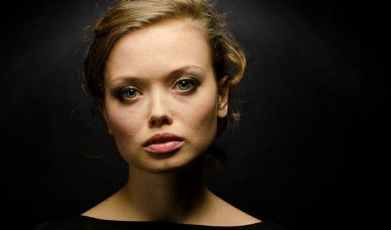Актриса и телеведущая Юлия Минаковская
