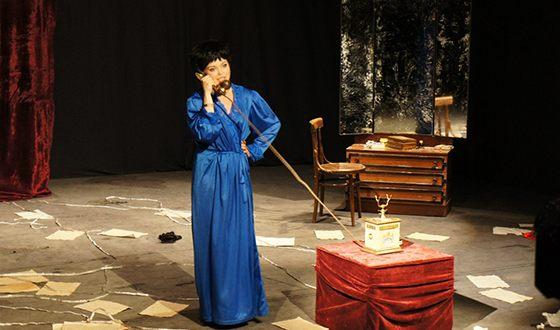 Юлия Минаковская много играет в театре
