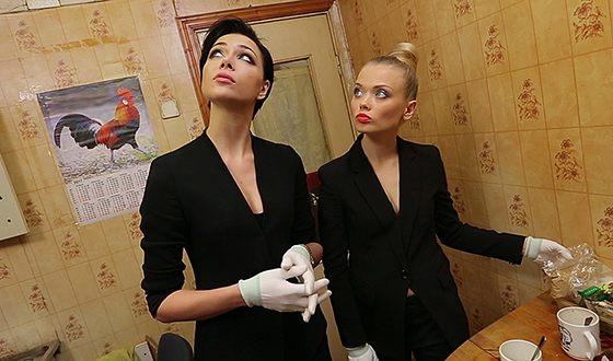 Юлия Минаковская и Настасья Самбурская в программе «Генеральная уборка»