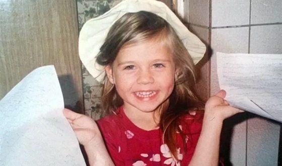 Татьяна Моргунова в детстве