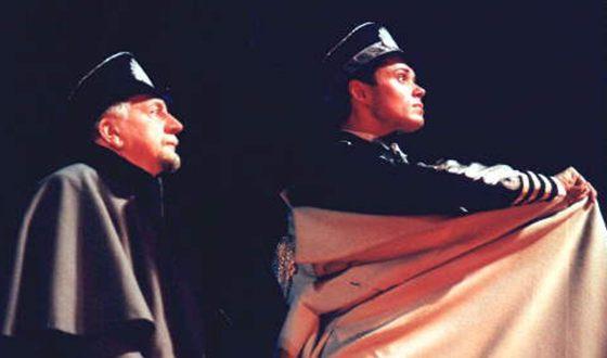 Андрей Носков на сцене БДТ им. Б.А.Товстоногова («Федра» 2001г.)