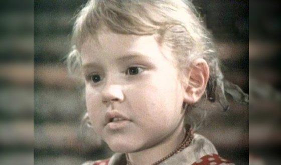 Анна Каменкова в детстве