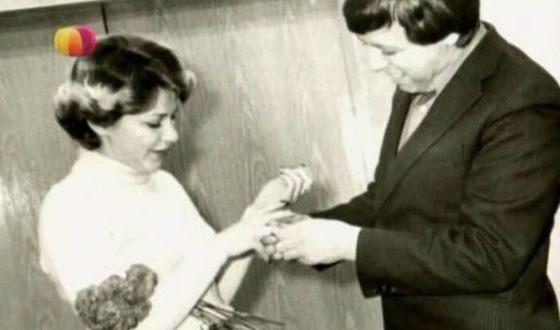 Анна Каменкова и ее муж Анатолий Спивак