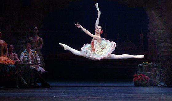 Диана Вишнёва в балете «Дон Кихот»