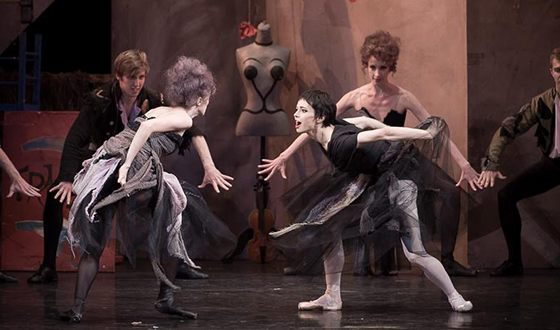 Диана Вишнёва в постановке «Кармен»