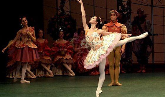 Диана Вишнёва в спектакле «Спящая красавица»