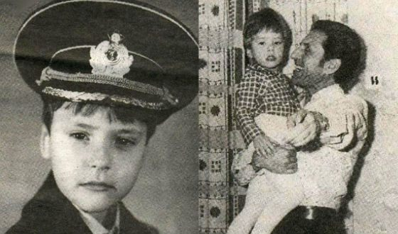 Певец Витас в детстве