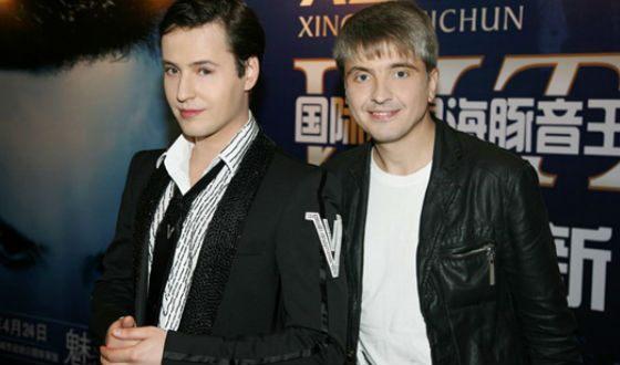 На фото: Витас и его продюсер Сергей Пудовкин