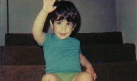 Дэвид Швиммер в детстве