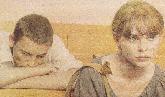 Ольга Машная с Валерием Приемыховым в картине «Пацаны»