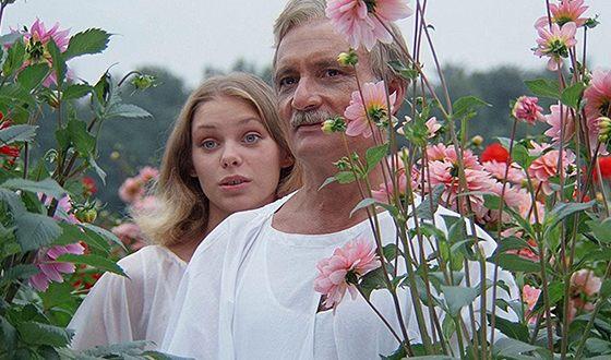 Ольга Машная и Георгий Данелия на съемках фильма «Кин-дза-дза»