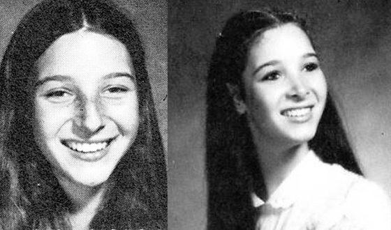 Лиза Кудроу в школьные годы