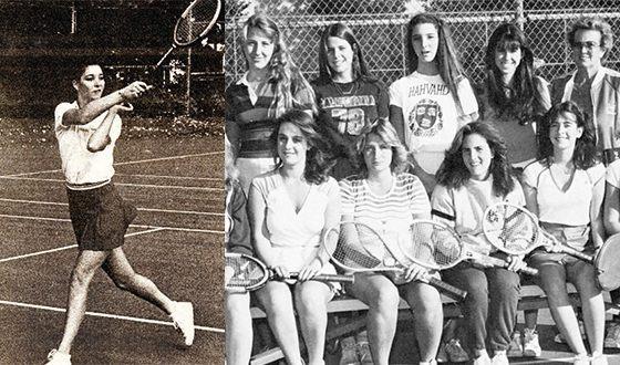 Лиза Кудроу в юности занималась теннисом