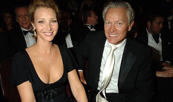 Лиза Кудроу и её муж Мишель Стерн