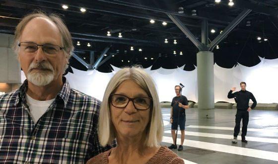 На фото: родители актера
