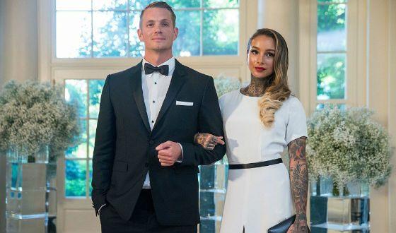 На фото: Юэль Киннаман и его жена Клео Ваттенстром