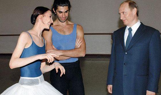 Светлана Захарова, Николай Цискаридзе и Владимир Путин