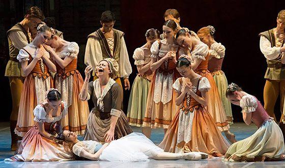 Светлана Захарова в постановке спектакля «Жизель»