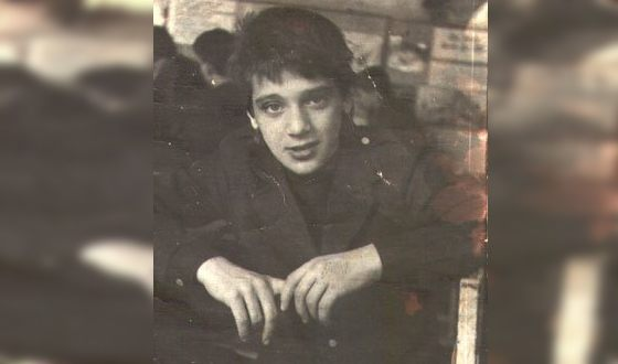 Сергей Куприк в юности