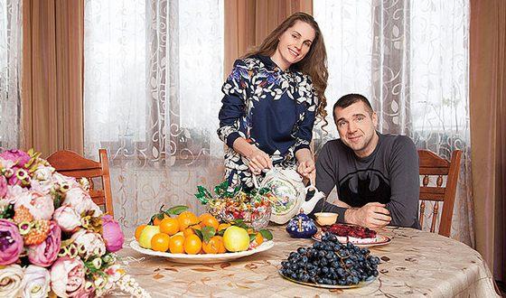 Сергей Куприк и его жена