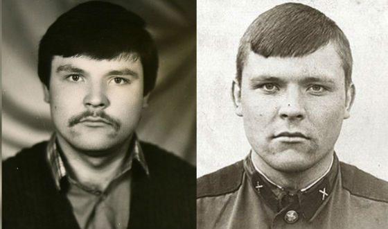 Михаил Круг в молодости