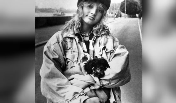 Юная звезда. Фото 1987 года