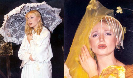 Кристина Орбакайте в спектакле «Барышня-крестьянка»