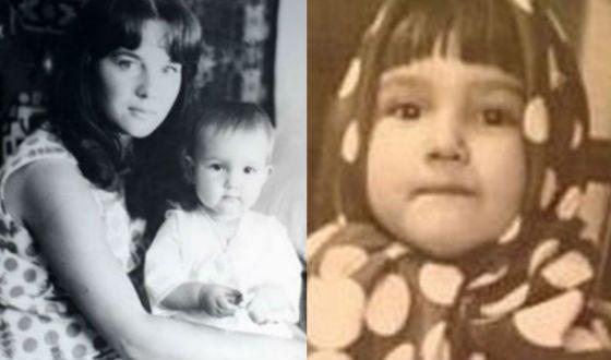 Детские фото Леры Кудрявцевой