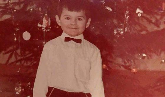 Андрей Скороход в детстве