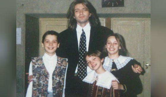 На фото Дмитрий Маликов с еще совсем юным Сергеем Лазаревым