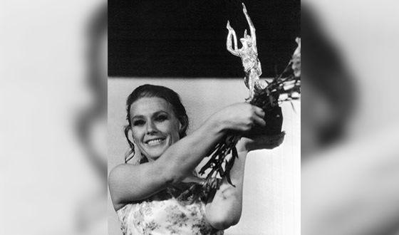 Мария Пахоменко с наградой «Золотой Орфей»