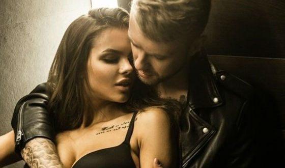 Егор Крид и Виктория Одинцова в клипе «Мне нравится»