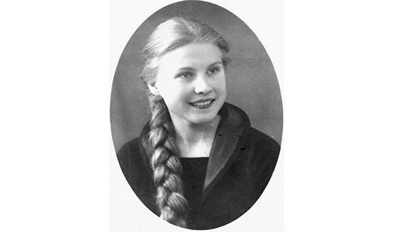 Мария Пахоменко в молодости