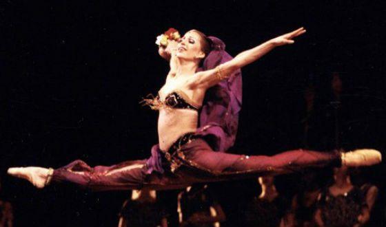 Волочкова в балете «Баядерка»