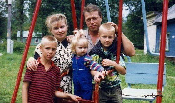 Семья Алексея Воробьева