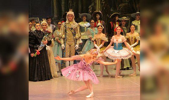 Анна Исаева выступала в Кремлевском балете и Русском балете имени Гордеева