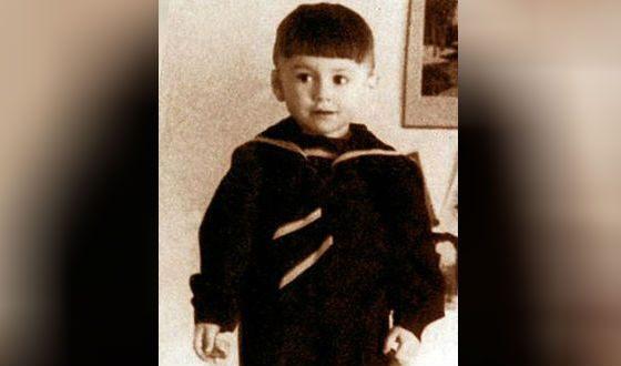 Валерий Леонтьев в детстве