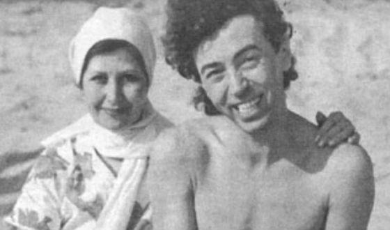 Валерий Леонтьев и его старшая сестра Майя