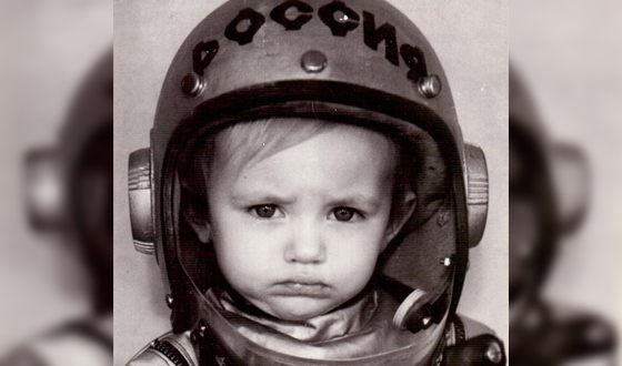 Детское фото Яны Енжаевой