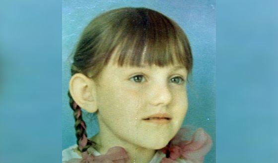 Инга Оболдина в детстве