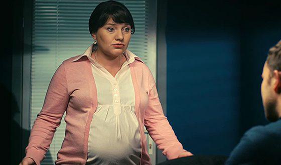 Инга Оболдина в сериале «Мама-детектив» действительно снималась будучи беременной