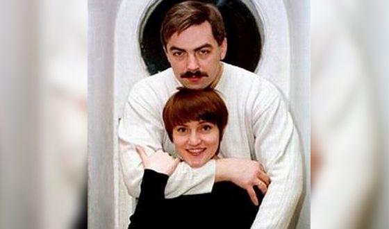 Инга Оболдина с первым мужем Гарольдом Стрелковым