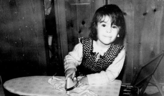 Ева Грин в детстве