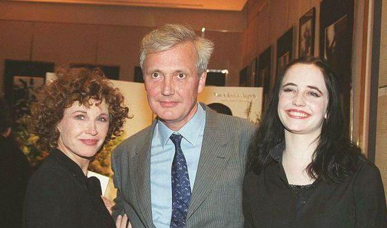 Ева Грин с родителями