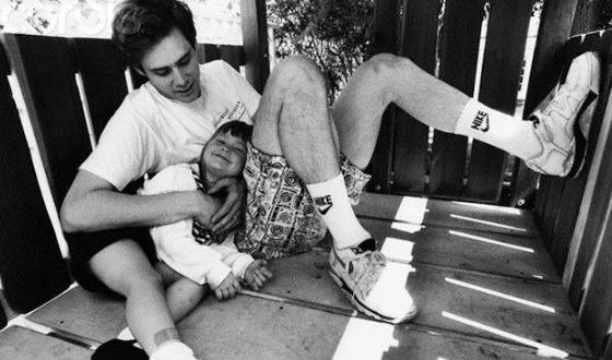Джим Керри с дочкой Джейн